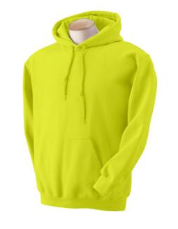 Adult Pullover Hood - Safety Green